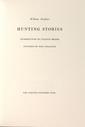 Hunting stories