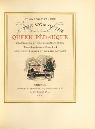 At the sign of the Queen Pédauque