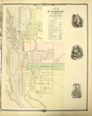 Historical atlas of Wisconsin embracing complete state and county maps city and village plats, together with seperate state and county histories, also special articles on the geology, education, agriculture, and other important interests of the state, illustrated