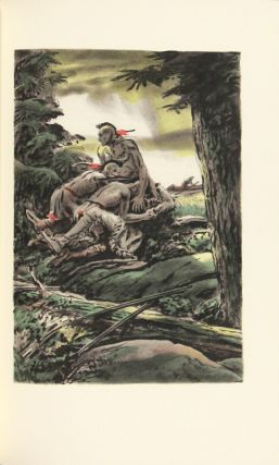 The deerslayer, with an introduction by John T. Winterich and illustrations by Edward A. Wilson