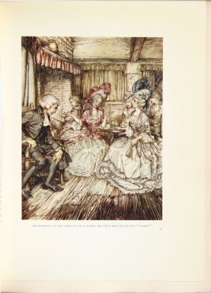 The vicar of Wakefield ... Illustrated by Arthur Rackham.