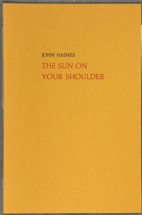 The sun on your shoulder