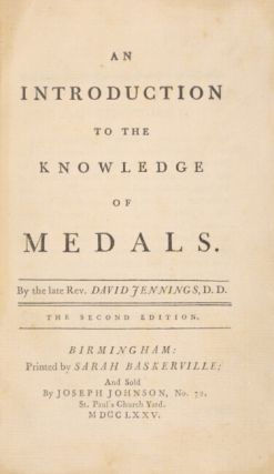 An introduction to the knowledge of medals...The second edition