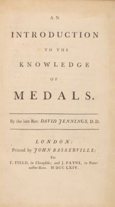An introduction to the knowledge of medals