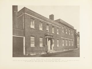 The smaller English house of the later Renaissance 1660-1830