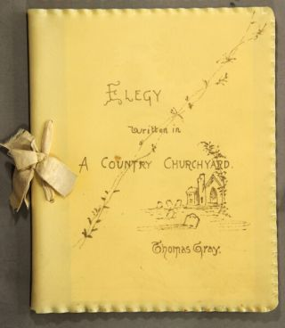 Elegy written in a country churchyard. With illustrations by Birket Foster, W. L. Sheppard, W. L. Taylor, Francis Miller, and others. Thomas Gray.