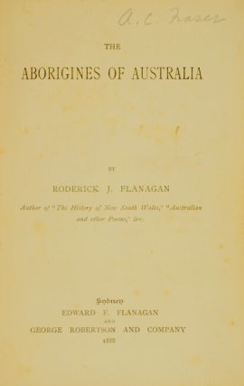The Aborigines of Australia
