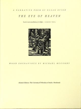 The eye of heaven: a narrative poem. Wood engravings by Michael McCurdy