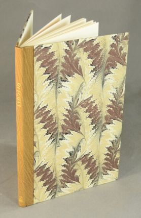 Offcuts: the Campbell-Logan Bindery's suggestions for successful book binding. Gregor Campbell.