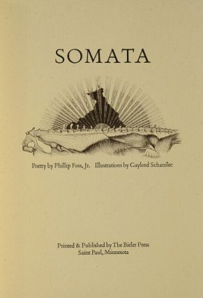 Somata...Illustrations by Gaylord Schanilec