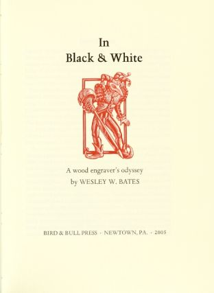 In black & white: a wood engraver's odyssey