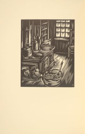A practical guide to light refreshments: a collection of nineteenth-century recipes...Wood engravings by John DePol