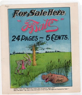 "For sale here ""To Date."" 24 pages - 5 cents ... Read ""To Date."" Maginel Wright Enright."