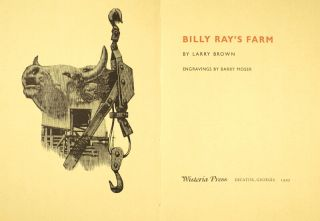 Billy Ray's farm. Engravings by Barry Moser