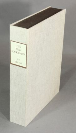 The new bookbinder: journal of designer bookbinders. Volumes 1 - 5