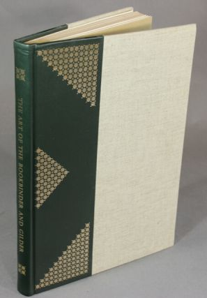 The art of the bookbinder and gilder...translated into English by Richard MacIntyre Atkinson. Rene Martin Dudin.
