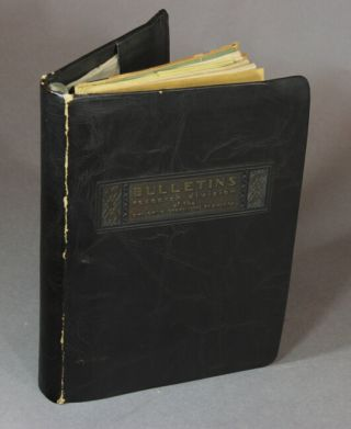 Bulletins, Research Division of the Employing Bookbinders of America [cover title]. F. R. Blaylock.
