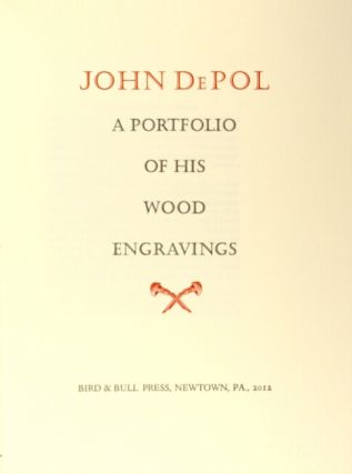 John DePol: a portfolio of his wood engravings