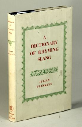 A dictionary of rhyming slang