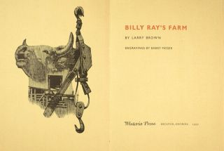 Billy Ray's farm...Engravings by Barry Moser