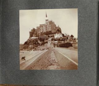 Photograph album of a trip through France and Italy