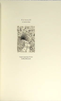Cornwall an interior vision. Copper engravings & texts by Brian Hanscomb