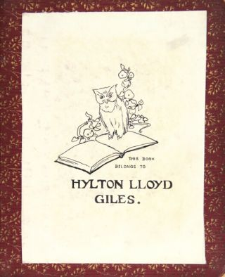 Album of watercolors, gouaches, pen & ink sketches, and pencil sketches by various artists, and kept by Hylton Lloyd Giles