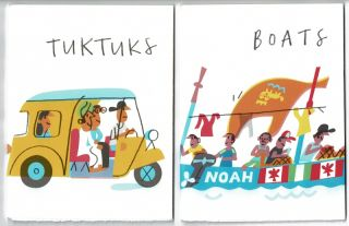 Favourite things no. 1: Boats. [With:] Favourite things no. 2: Tuktuks. Peter Allen.