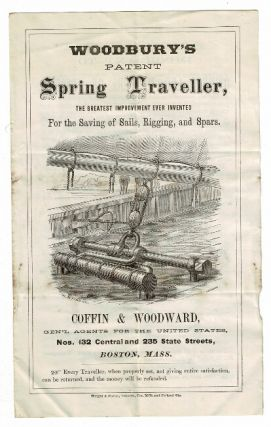 Woodbury's patent spring traveller, the greatest improvement ever invented for the saving of...