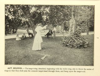 The bellecycle: a drama of aesthetic athletics being the vacation games and exercises of Anne Eugenia Morgan, Professor of Philosophy in Wellesley College