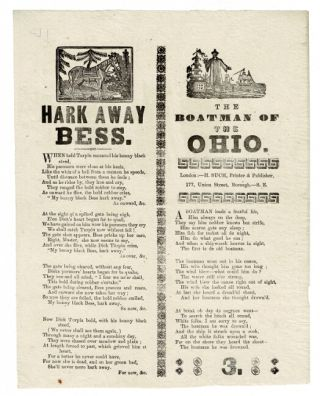 Hark away Bess. [With}: The boatman of the Ohio