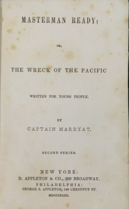 Masterman ready; or the wreck of the Pacific. Written for young people
