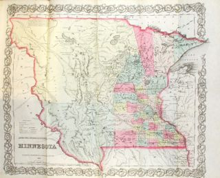 The Minnesota handbook for 1856-7. With a new and accurate map