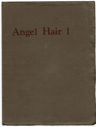 Angel hair 1 - 6 [complete]. Anne Waldman, eds Lewis Warsh