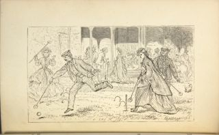 The game of croquet; its appointment and laws; with descriptive illustrations. By R. Fellow