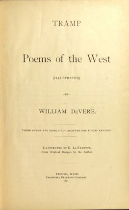Tramp poems of the West