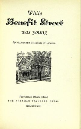 While Benefit Street was young