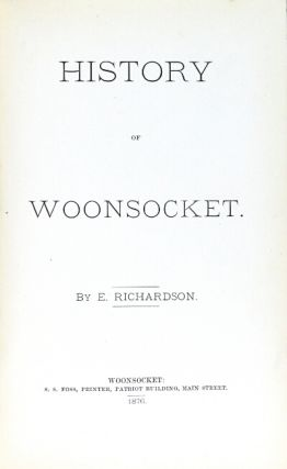 History of Woonsocket