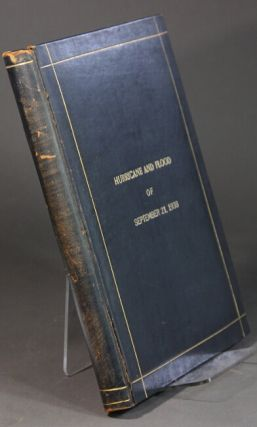 The hurricane and flood of September 21, 1938 at Providence, R.I. A pictorial record [wrapper title