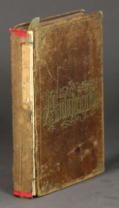 Autograph book containing approximately 68 autographs, among whom John Greenleaf Whittier,...