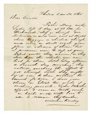Collection of family letters from the Starrs, Chipmans and Cranes
