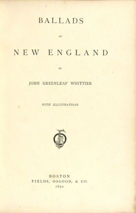 Ballads of New England