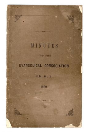 Minutes of the annual meeting of the Rhode Island Evangelical Consociation and of the Rhode...