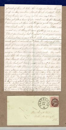 Collection of 44 letters to and from the Westcott Whites of Rhode Island, Cleveland, and Illinois