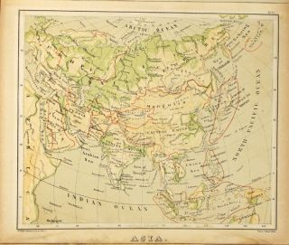 Sonnenschein & Allen's Royal relief atlas of all parts of the world consisting of 31 maps, with physical, political, and statistical descriptions