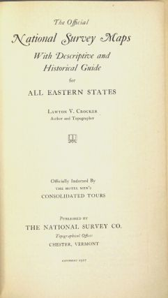 Official National Survey maps with descriptive guide and historical notes for all eastern states. Consolidated edition [cover title]
