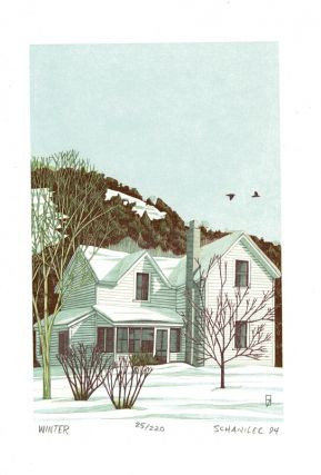 [Suite of wood-engravings for:] A house in the country