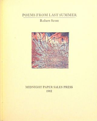 Poems from last summer