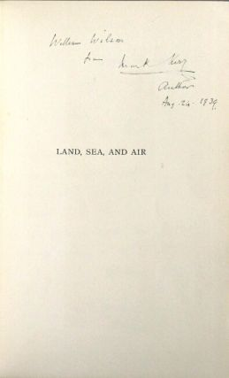 Land, sea, and air. Reminiscences of Mark Kerr, Admiral, R.N., Major-General R.A.F. (retired)