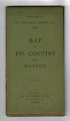 Map of the country about Boston